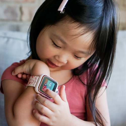 PlayZoom Smartwatch for Kids: Space Print