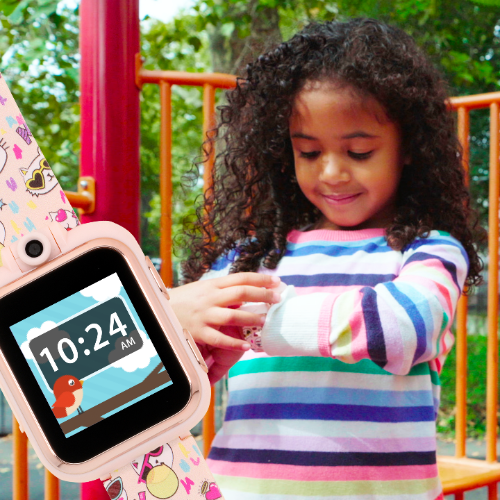 iTouch PlayZoom Smartwatch For Kids: Rainbow Holographic
