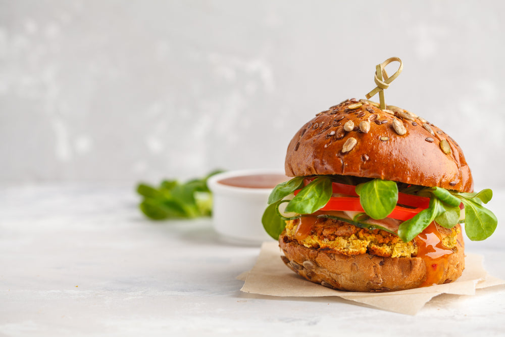 Quinoa Meatless Burger Recipe