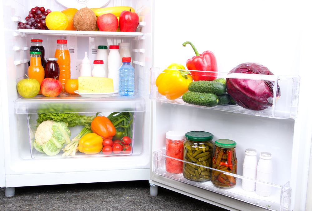 How To Organize Your Fridge To Eat Healthier