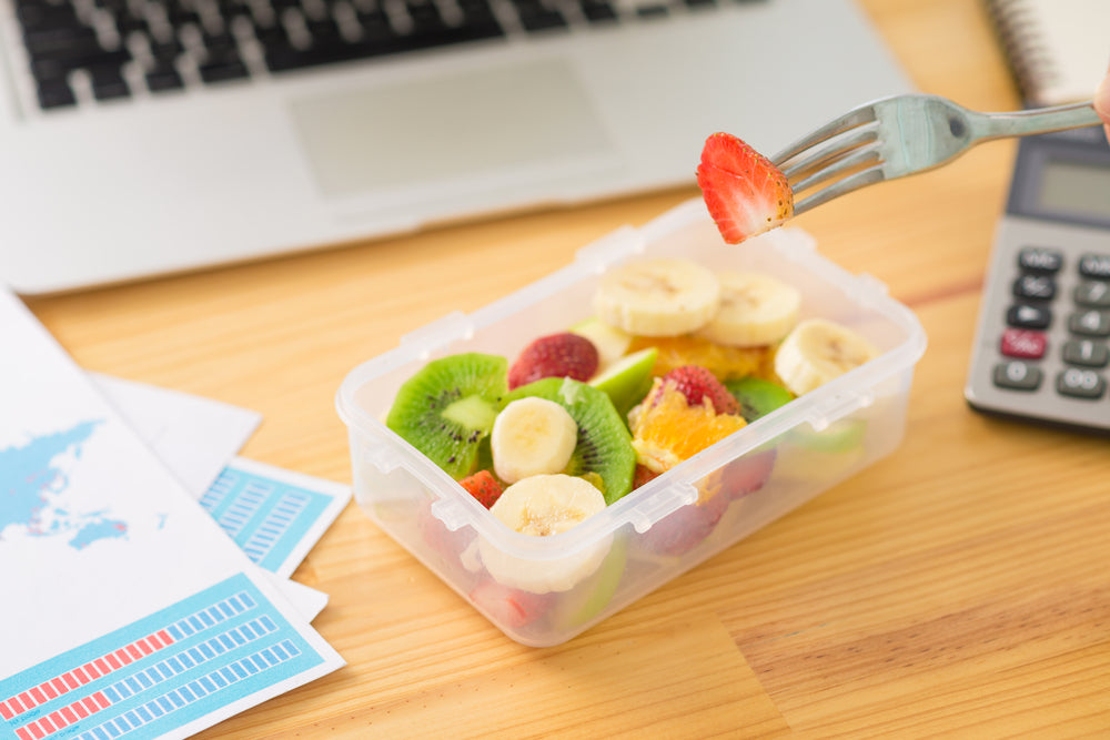 How To Snack Smarter At Work