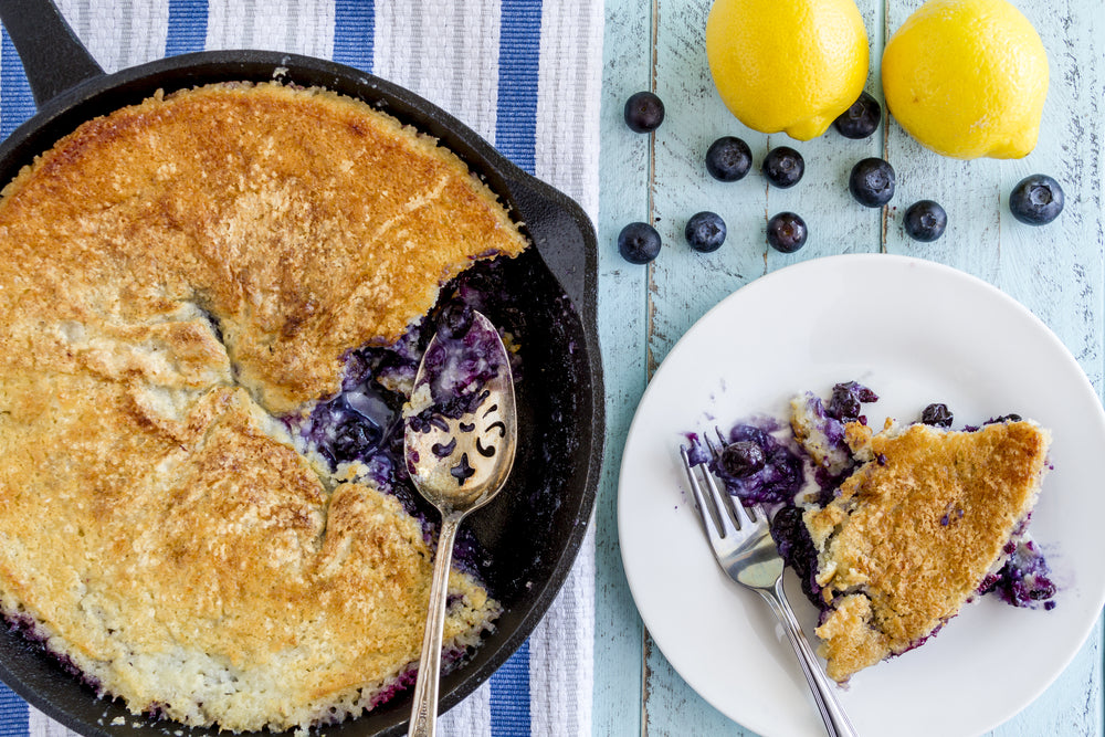 Sweet & Simple Fruit Dessert Recipes - blueberry cobbler