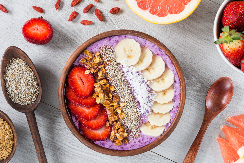 5 Beautiful And Yummy Smoothie Bowl Recipes