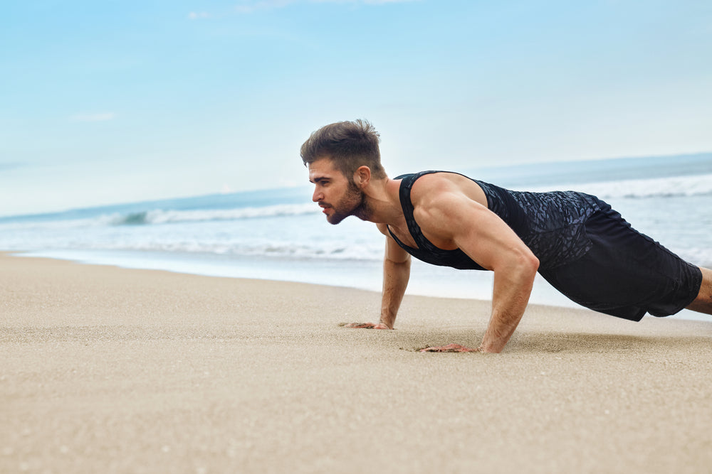 Beach Workouts You Can Do In The Sand
