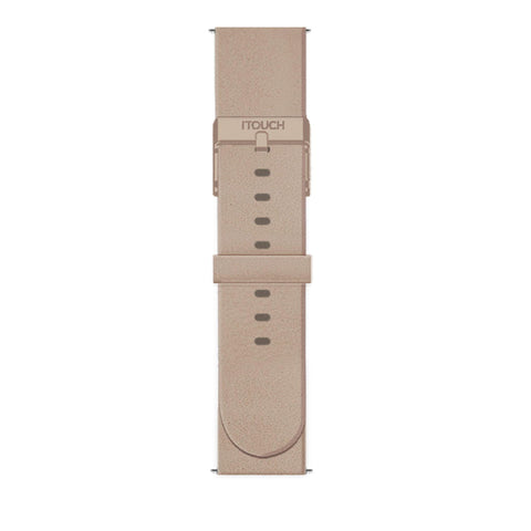 iTouch Air SE Leather Strap: Taupe Beige