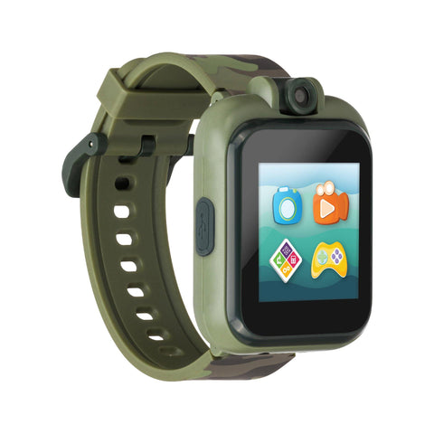 PlayZoom 2 Kids Smartwatch: Olive Camouflage Print