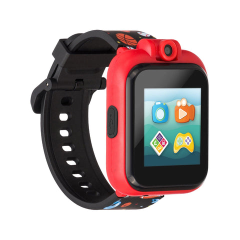 PlayZoom 2 Kids Smartwatch: Black Sports Print