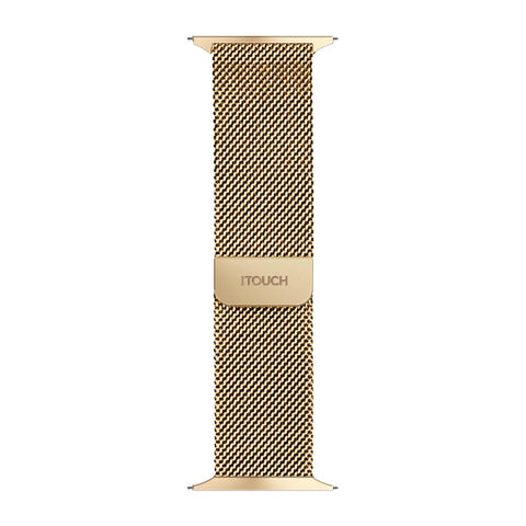 iTouch Sport Metal Mesh Strap: Gold