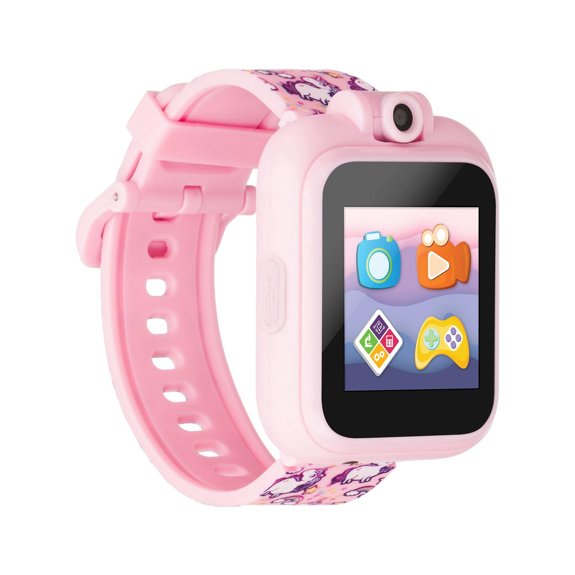 PlayZoom 2 Kids Smartwatch: Pink Unicorn Print