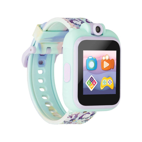 PlayZoom 2 Kids Smartwatch: Tie Dye Unicorn Print