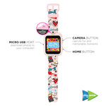 iTouch PlayZoom Smartwatch For Kids: Pink Graffiti Print