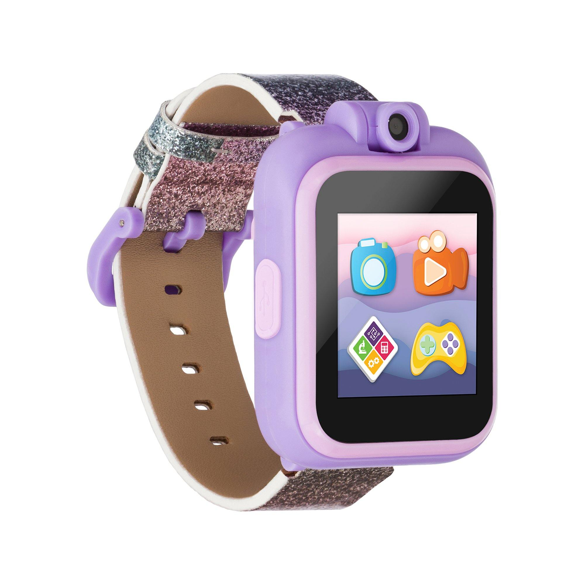 PlayZoom 2 Kids Smartwatch: Pink/Purple Glitter