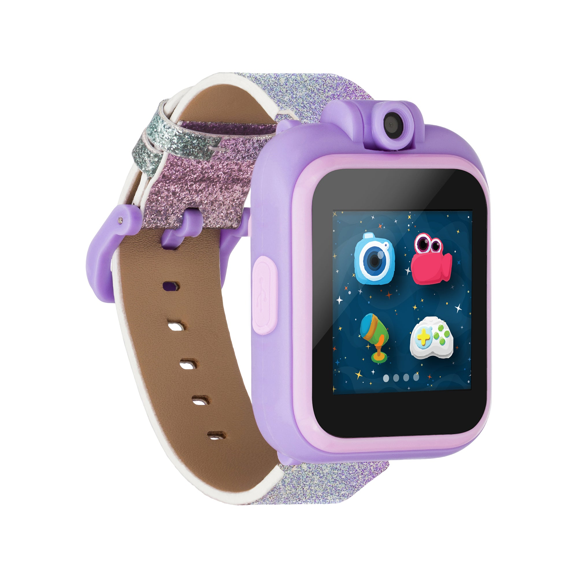 PlayZoom Smartwatch for Kids: Purple Glitter