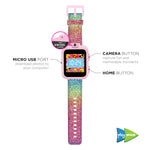 PlayZoom Smartwatch for Kids: Rainbow Glitter