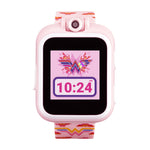 Wonder Woman Smartwatch for Kids by PlayZoom: Blush Symbol
