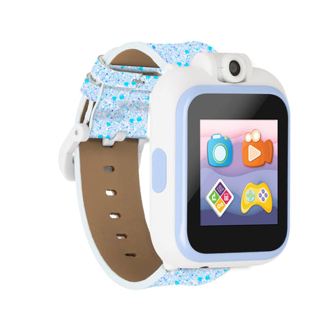PlayZoom 2 Kids Smartwatch: Light Blue Glitter