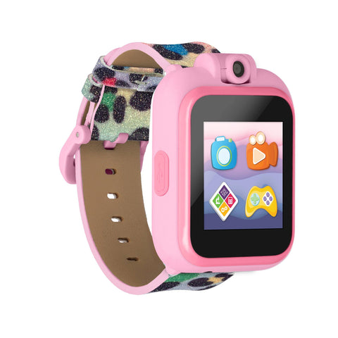 PlayZoom 2 Kids Smartwatch: Rainbow Leopard Print