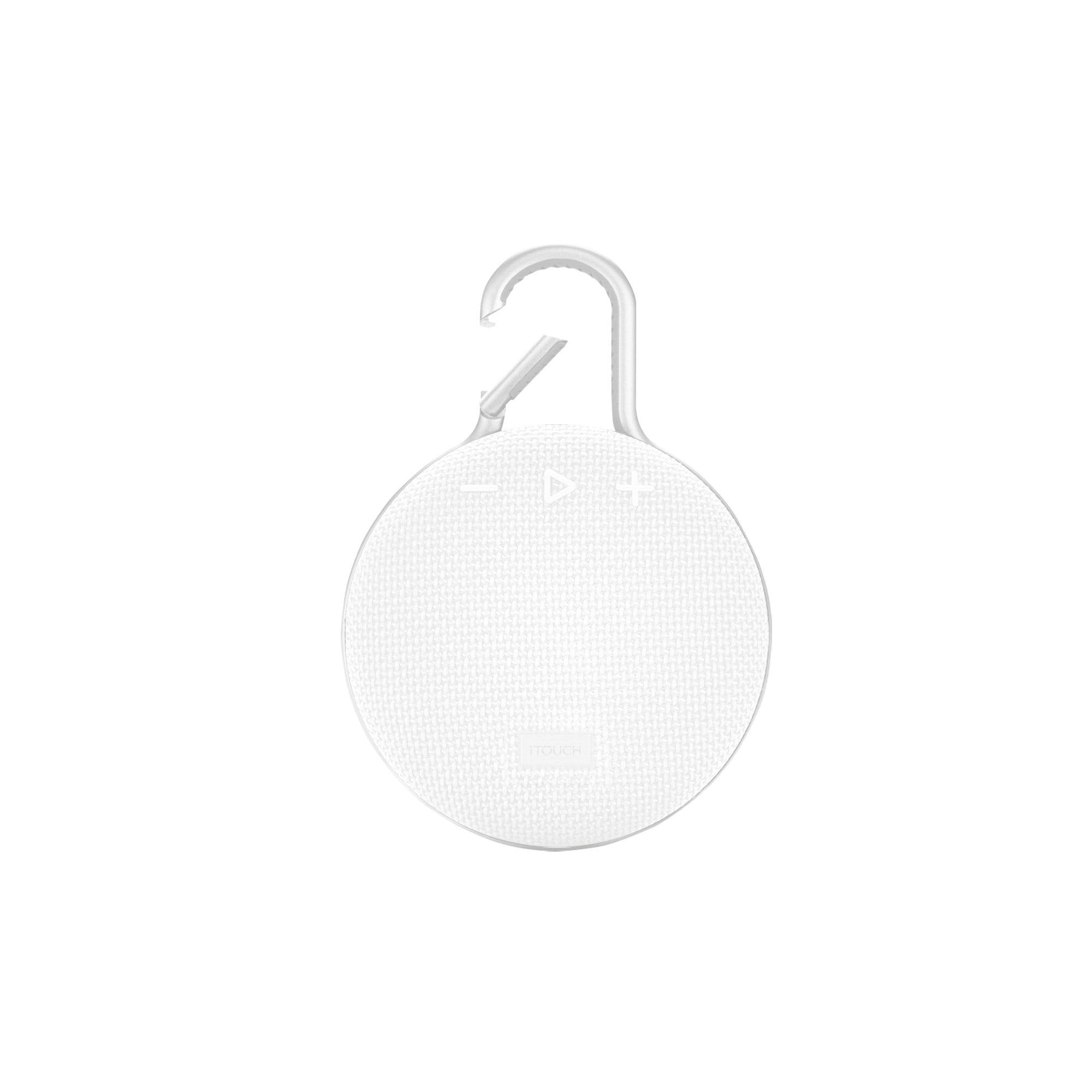 Clip-On Wireless Speaker: White