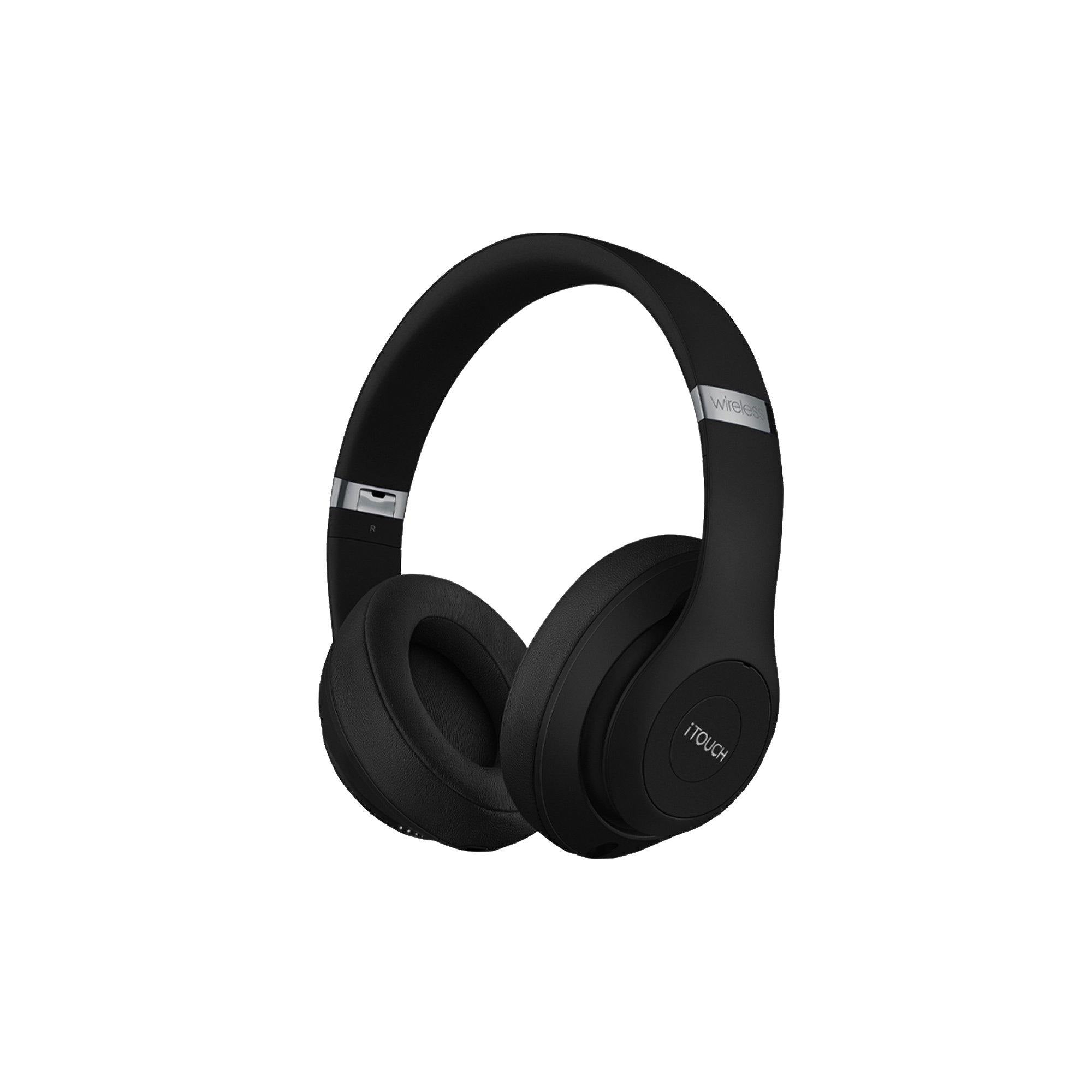 Wireless Over-Ear Headphones: Black