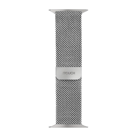 iTouch Air SE Metal Mesh Strap: Silver