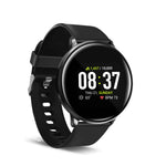 iTouch Sport Smartwatch: Black Case With Black Strap