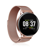iTouch Sport Smartwatch: Rose Gold Case With Rose Gold Strap