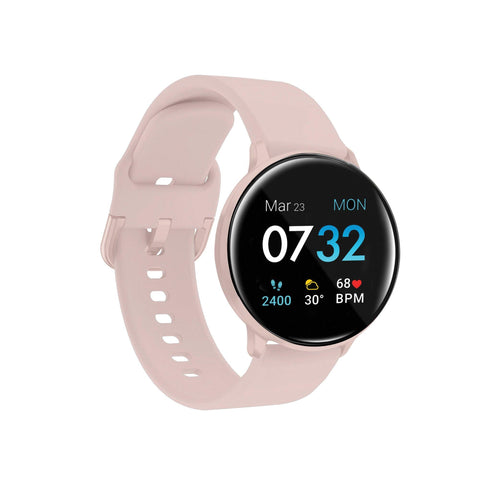 iTouch Sport 3 Smartwatch: Blush Case with Blush Strap