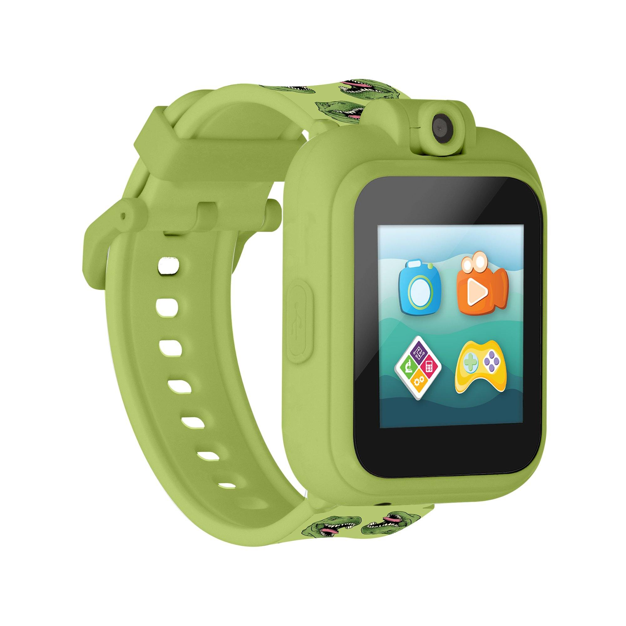 PlayZoom 2 Kids Smartwatch: Green Dinosaur Print
