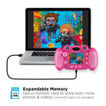 Playzoom Snapcam Duo, fuschia