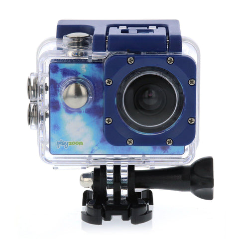 PlayZoom GoCam- Waterproof Kids Action Camera (Turquoise)