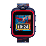 Superman Smartwatch for Kids by PlayZoom: Navy/Red