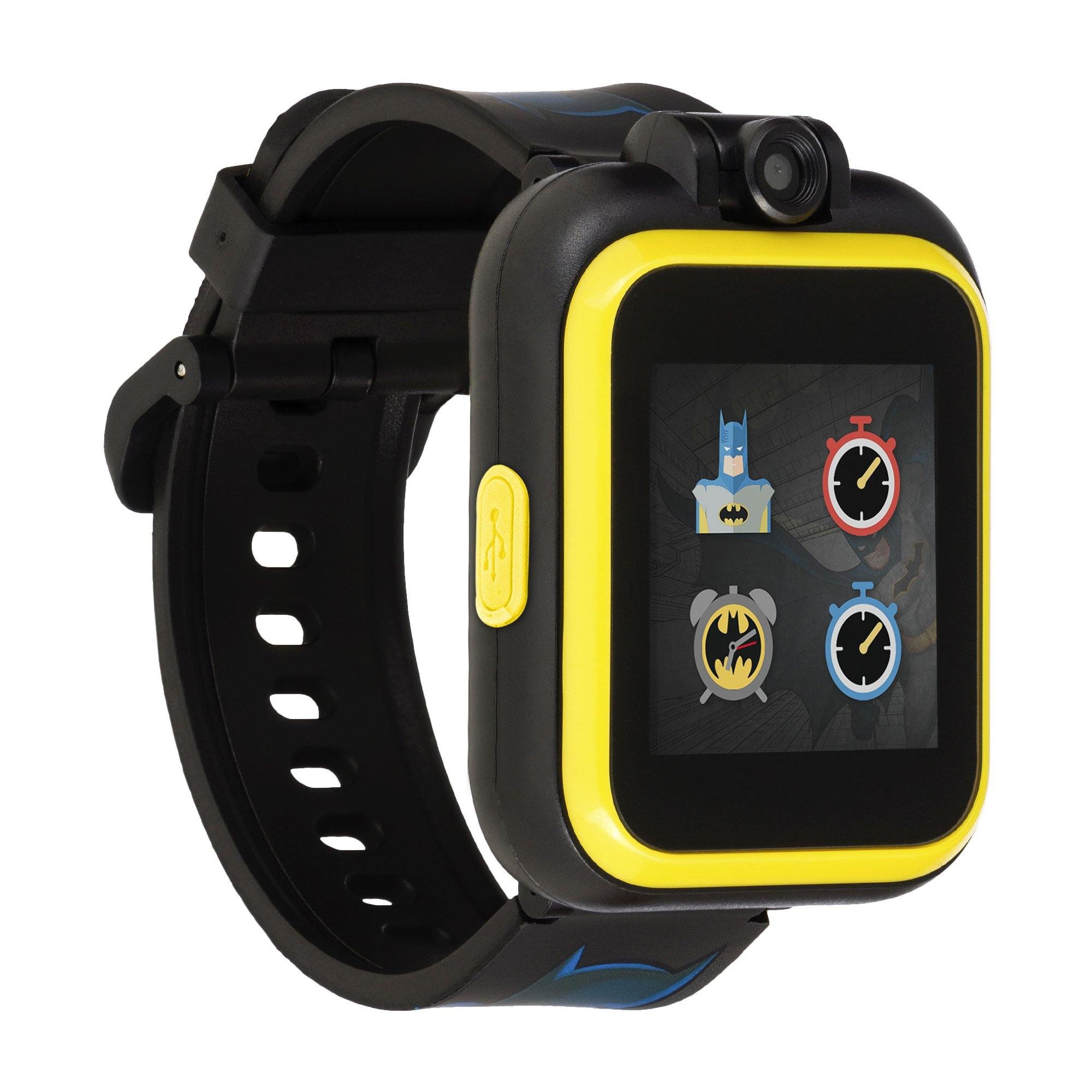 Batman Smartwatch for Kids by PlayZoom: Yellow Batman