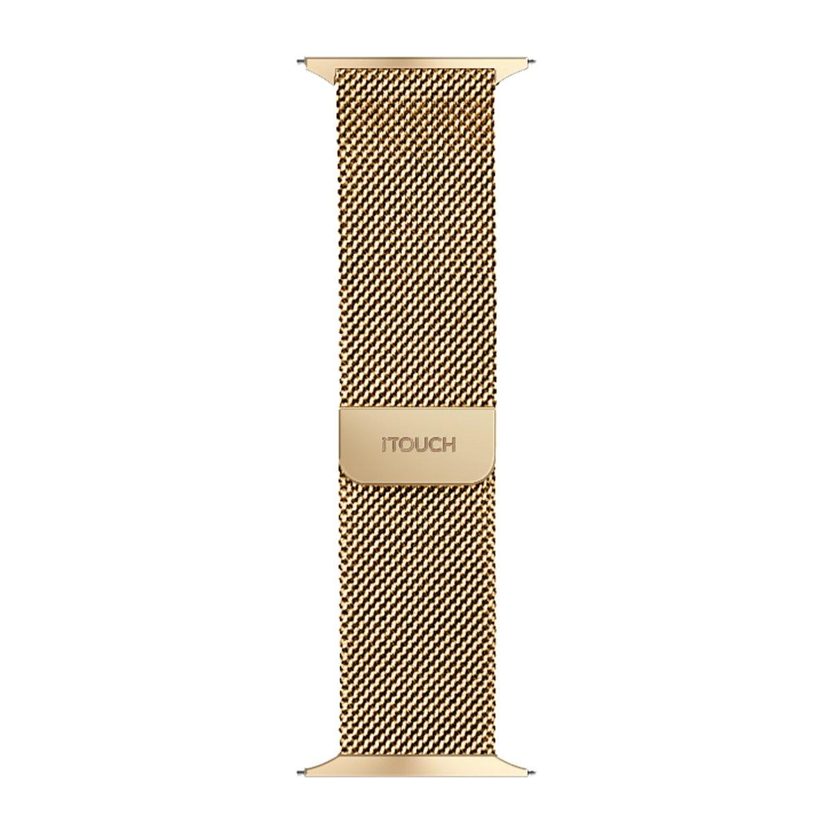 iTouch Air SE Metal Mesh Strap: Gold