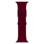 iTouch Sport Solid Silicone Strap: Merlot
