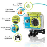 PlayZoom GoCam- Waterproof Kids Action Camera (Blue)