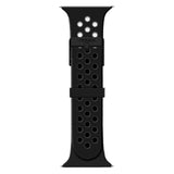iTouch Sport Perforated Silicone Strap: Black/Grey