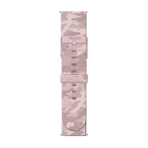 iTouch Air SE Strap: Blush Camouflage
