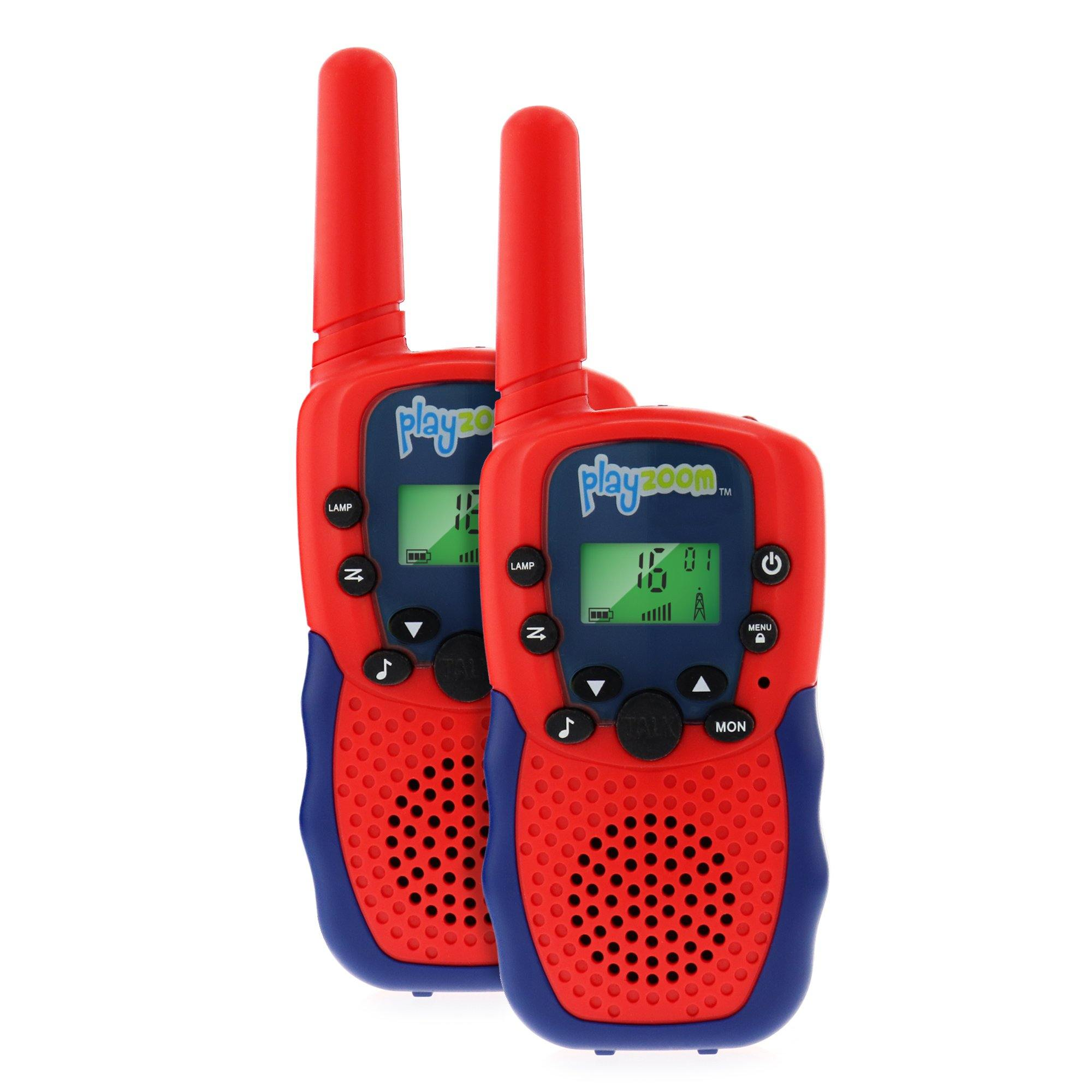 PlayZoom Walkie Talkies 2 pack, Red