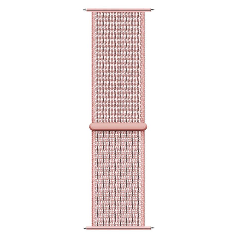iTouch Sport Woven Nylon Strap: Blush