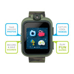 PlayZoom Smartwatch for Kids: Green Camo
