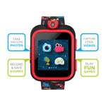 iTouch PlayZoom Smartwatch For Kids: Black with Dinosaur Print