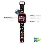 PlayZoom Smartwatch for Kids: Sports Print
