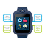 iTouch PlayZoom Smartwatch For Kids: Blue Band With Camo Print
