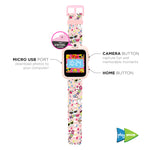 iTouch PlayZoom Smartwatch For Kids: Blush with Cat Print
