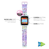 PlayZoom Smartwatch for Kids: Tie Dye Unicorn