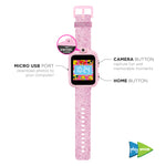 PlayZoom Smartwatch for Kids: Pink Glitter