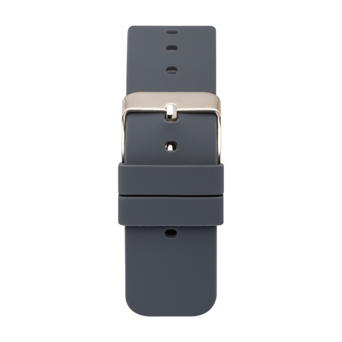 iTouch Air & Pulse Smartwatch Strap with Buckle: Dark Grey with Gold Buckle