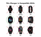 iTouch PlayZoom Smartwatch Charger: Pink