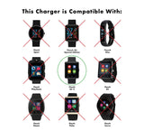 iTouch Air 2 Smartwatch Extended Charger: 45mm (White)