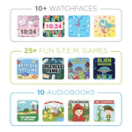 PlayZoom 2 Kids Smartwatch: Gold Star Print